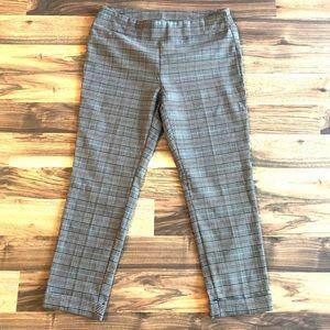 Jules & Leopold plaid pants